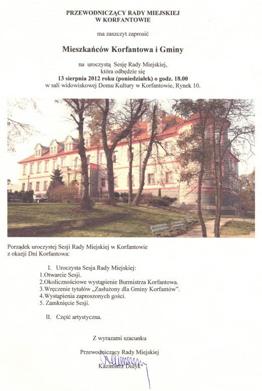Zaproszenie na uroczystą Sesję - Dni Korfantowa 20120001.jpeg