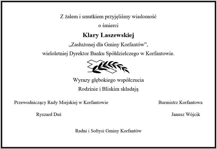 Klara Laszewska - nekrolog.png