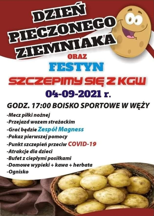 Zaproszenie na festyn w Węży -04.09.2021 r. .jpeg