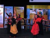 Występ zespołu wokalno-tanecznego z Kluczborka