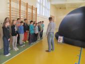 Galeria Mobilne planetarium w Przechodzie