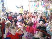 Galeria 29. 01. 2014 r. ZABAWA KARNAWAŁOWA W PRZEDSZKOLU W ŚCINAWIE NYSKIEJ 3-latki