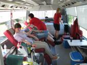 Galeria Krwiodawcy w Korfantowie oddali 4,5 litra krwi