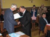 Galeria Nowa rada i burmistrz zaprzysiężeni