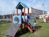 Galeria Biedroneczki na placu zabaw