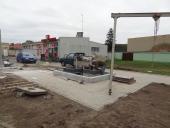 Galeria Zagospodarowanie terenu części północnej działki nr 540 przy istniejącym budynku zaadaptowanej remizy OSP na centrum społeczno-kulturalno-edukacyjne w Korfantowie (biblioteka miejska)
