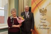 Galeria Uroczystość wręczenia Medali za Długoletnie Pożycie Małżeńskie 2015