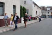 Galeria Delegacja z partnerskiego miasta Boulleret odwiedziła Korfantów