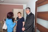 Galeria Oficjalne przekazanie mieszkania rodzinie z Kazachstanu