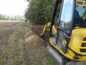 Galeria Budowa przyłącza kablowego nn do zasilania budynku oczyszczalni ścieków w Korfantowie
