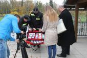 Galeria Przekazanie torby medycznej dla OSP Włodary