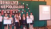 Galeria Akademia z okazji Święta Niepodległości w ZS-P w Ścinawie Małej
