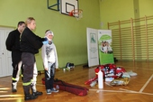 Galeria Ochotnicza Straż Pożarna z wizytą w szkole