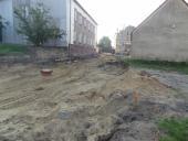 Galeria Zakończono prace związane z budową odcinka sieci kanalizacji sanitarnej w ul. Szkolnej w Korfantowie
