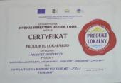 Galeria Wręczenie certyfikatów produktu lokalnego