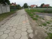 Galeria Budowa kanalizacji sanitarnej w ul. Nowej w Korfantowie - przed