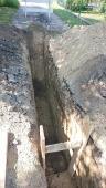 Galeria Budowa kanalizacji sanitarnej w ul. Nowej w Korfantowie - w trakcie