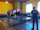 Galeria XVIII turniej tenisa stołowego młodych strażaków z Gminy Korfantów o puchar Naczelnika OSP Włostowa
