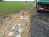 Galeria Zakończenie prac związanych z budową sieci wodociągowo-kanalizacyjnej w Korfantowie przy ul. Kwiatowej i ul. Działkowej