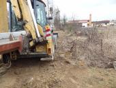 Galeria Rozbudowa sieci kanalizacji sanitarnej w rejonie ulic Rzemieślnicza i Ogrodowa w Korfantowie przed, w trakcie