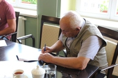 Galeria Podpisanie umowy na  zakup  nowego wozu bojowego  dla OSP w Ścinawie Małej