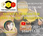 Plakat - zaproszenie na webinar