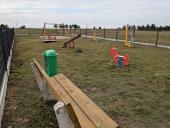 Galeria Nowe ogrodzenie placu zabaw i siłowni w Niesiebędowicach
