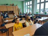 Galeria Spotkanie online z uczniami z Boulleret