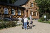 Galeria Międzynarodowo w Korfantowie. Przedstawiciele Niemiec, Czech i Polski spotkali się w Korfantowie.